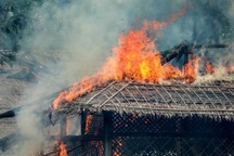 سه روستای مسلماننشین دیگر در میانمار در آتش سوختند