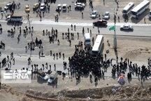 ۲ میلیون و ۷۹۸ هزار زائر از مرز مهران تردد کردند