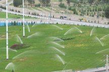 طرح مکانیزاسیون آبیاری نوین فضای سبز بافق آغاز شد