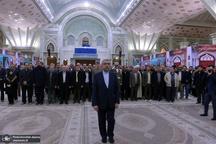 تجدید میثاق وزیر و کارکنان وزارت نیرو با آرمان های امام خمینی(س)