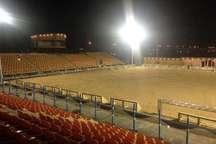 زمین جدید فوتبالی ساحلی بوشهر بزودی مهیای میزبانی لیگ برتر می شود