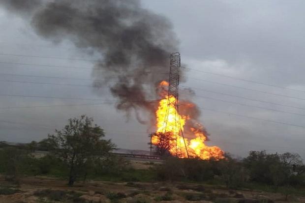 در حال تکمیل/ 9 کشته و زخمی در پی انفجار خط لوله گاز در خوزستان+ فیلم