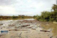 رودخانه قره سو در غرب گلستان پرآب شد