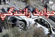 کشته و زخمیشدن 2 نفر در تصادفات بویراحمد