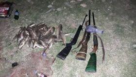 دستگیری ۶ نفر متخلف زیست محیطی در شهرستان سلسله