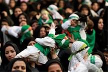شکوه میثاق شیرخوارگان البرز با شهید خردسال کربلا