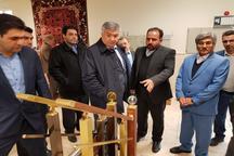 بازدید سفیر ازبکستان در ایران از نمایشگاه توانمندی شهرک های صنعتی قزوین
