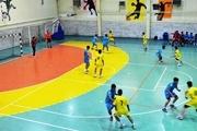 شهر تفت، میزبان پیکارهای هندبال قهرمانی پسران کشور شد