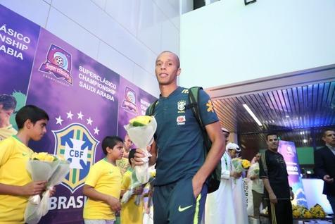 ستارهای برزیلی وارد عربستان شدند