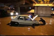 بارندگی در مشهد 30 میلیارد ریال خسارت به جا گذاشت