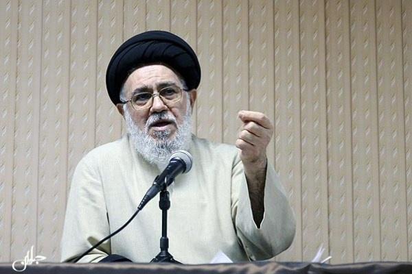 آیة الله سید محمد موسوی خوئینیها دبیرکل مجمع روحانیون مبارز