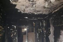 یک مجموعه اقامتی در مشهد آتش گرفت