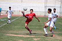 فوتبال دانش آموزان آسیا  کره جنوبی و تایلند مساوی شدند