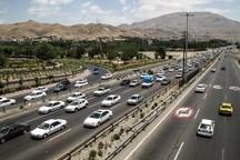 ترافیک در مبادی ورودی مشهد نیمه سنگین است