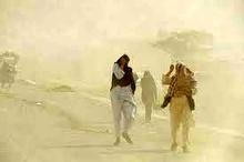 سرعت وزش باد در سیستان به 83 کیلومتر بر ساعت رسید