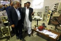 استاندار سیستان وبلوچستان از نمایشگاه دستاوردهای انقلاب بازدید کرد