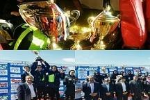 بانوان دوگانه کار حمل و نقل راشد گوهر زنجان عنوان قهرمانی کشوری را کسب کردند