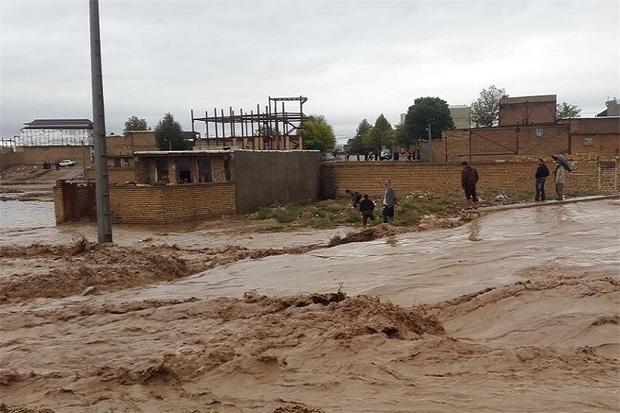 خسارت بارندگی در کهگیلویه 370 میلیارد ریال برآورد شد