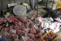 محموله گوشت چرخ کرده فاسد در مشهد کشف شد