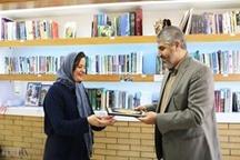 مدیرکل کتابخانههای عمومی کردستان از کتابخانه آزمایشگاه راژه سنندج بازدید کرد