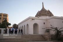 فاز اول مرمت معبد هندوهای بندرعباس پایان یافت