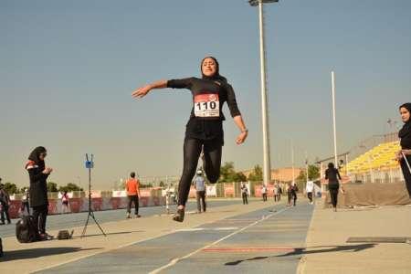 طلا ونقره پرش طول مسابقات کشوری به دختران گلستان رسید