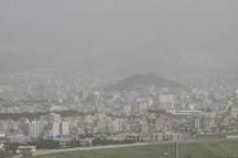 هوای شهرهای مهران و دهلران در شرایط ناسالم و وضعیت هشدار قرار دارد