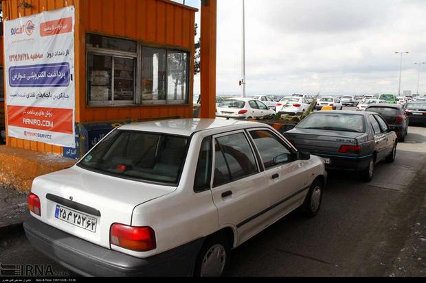 پرداخت عوارض در آزاد راه قزوین رشت الکترونیکی می شود