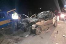 کاهش 80 درصدی تلفات حوادث جاده ای در چهارمحال وبختیاری