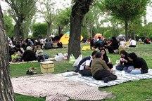 وضعیت جوی استان زنجان در روز طبیعت نیمه ابری است