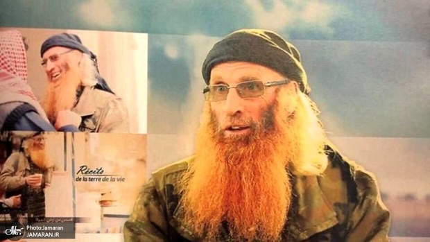 بازداشت ریش قرمز داعش+ عکس