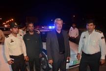 تاکید مسئولان و نیروهای انتظامی هندیجان بر حفظ امنیت عزاداران حسینی+ تصاویر