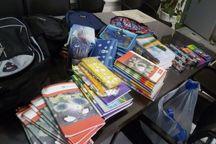 هزار و ۵۰۰ بسته لوازم تحریر بین دانش آموزان نیازمند تایباد توزیع شد