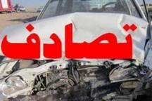 تصادف درآزاد راه کرج- قزوین 2کشته و7مصدوم برجای گذاشت