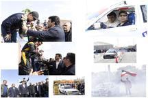 مسابقه اتومبیلرانی کارپارک دریفت کشوری با معرفی برترین ها پایان یافت