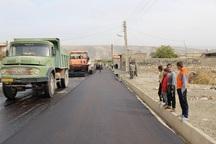 پنج پروژه عمران شهری در شاهو در دست اجراست