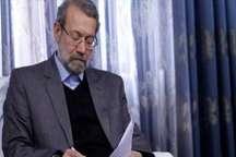 تسلیت علی لاریجانی به حسین مرعشی