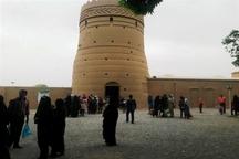 بازدید مسافران از آثار تاریخی مهریز 100 درصد افزایش یافت