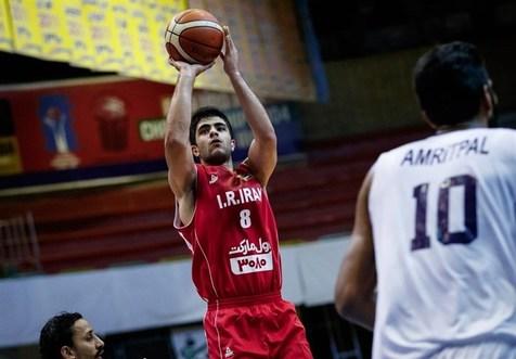 پیروزی تیم ملی بسکتبال مقابل سوریه در رقابت های غرب آسیا