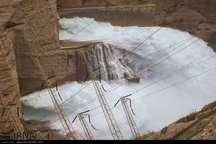 رهاسازی آب سدهای دز و کرخه برای کنترل سیلاب 6بهمن است