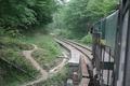 ریزش کوه و احتمال توقف حرکت قطار در راه آهن شمال