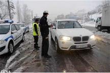 پلیس راه نسبت به لغزندگی جاده های سمنان هشدار داد