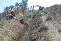 ۱۲۳ کیلومتر نهر کشاورزی در شادگان لایروبی شد