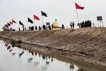 1200 تن از شهرستان البرز عازم اردوی راهیان نور شدند