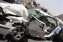 9 نفر در تصادف جاده کرج- چالوس مصدوم شدند