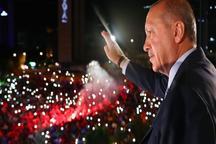 تصاویر/ اردوغان اعلام پیروزی کرد