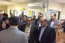هیات عراقی از زیرساخت های پزشکی آبادان و خرمشهر دیدن کرد