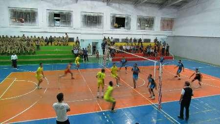 تیپ 230 گرگان قهرمان مسابقات والیبال شمال شرق نزاجا