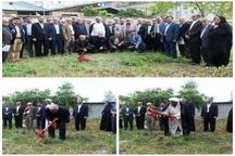 کلنگ احداث ساختمان کانون بازنشستگان فرهنگی در شهرستان تالش