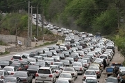 ترافیک نیمه سنگین صبحگاهی در محور قزوین-کرج -تهران  آذربایجان غربی بارانی است  محورهای مواصلاتی ده استان مسدود است